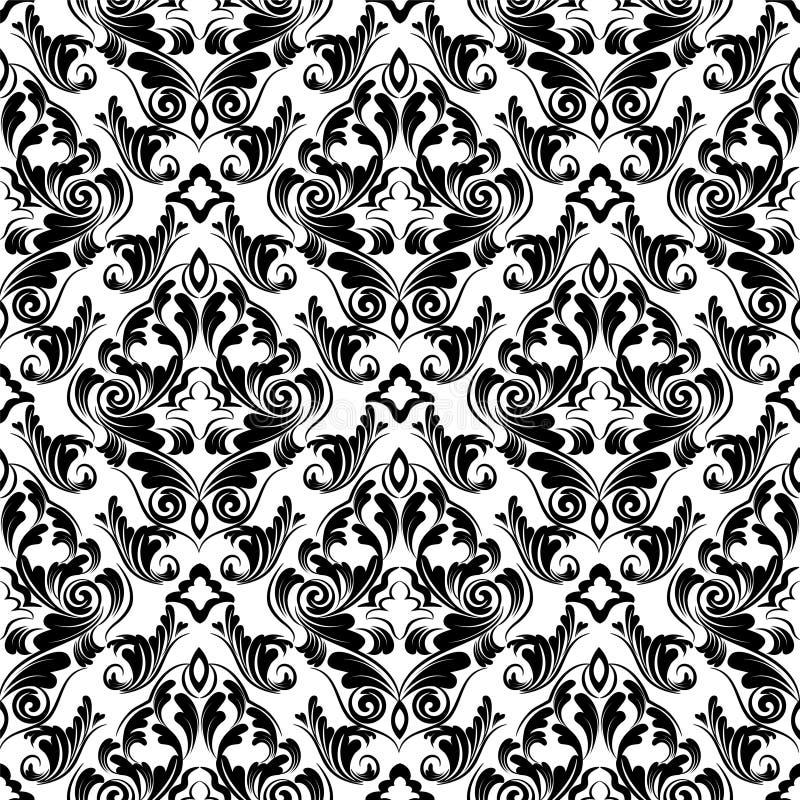 Download Damask Wallpaper Stock Vector Illustration Of Frame