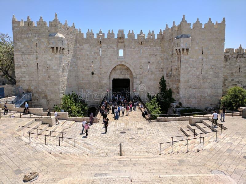 Damaskus-Tor stockbild