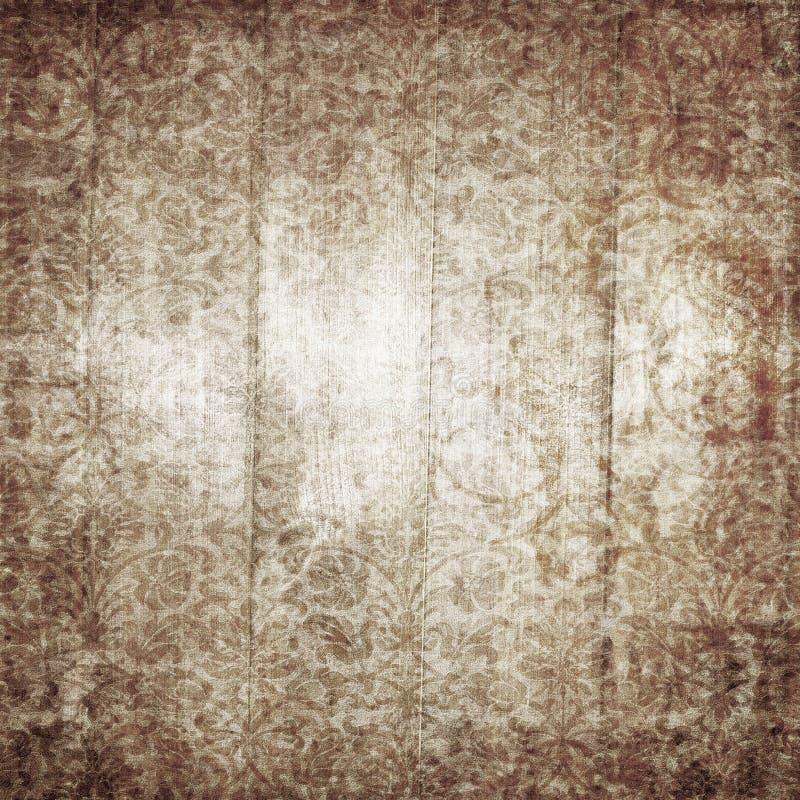 Damast blom- bakgrund royaltyfri bild
