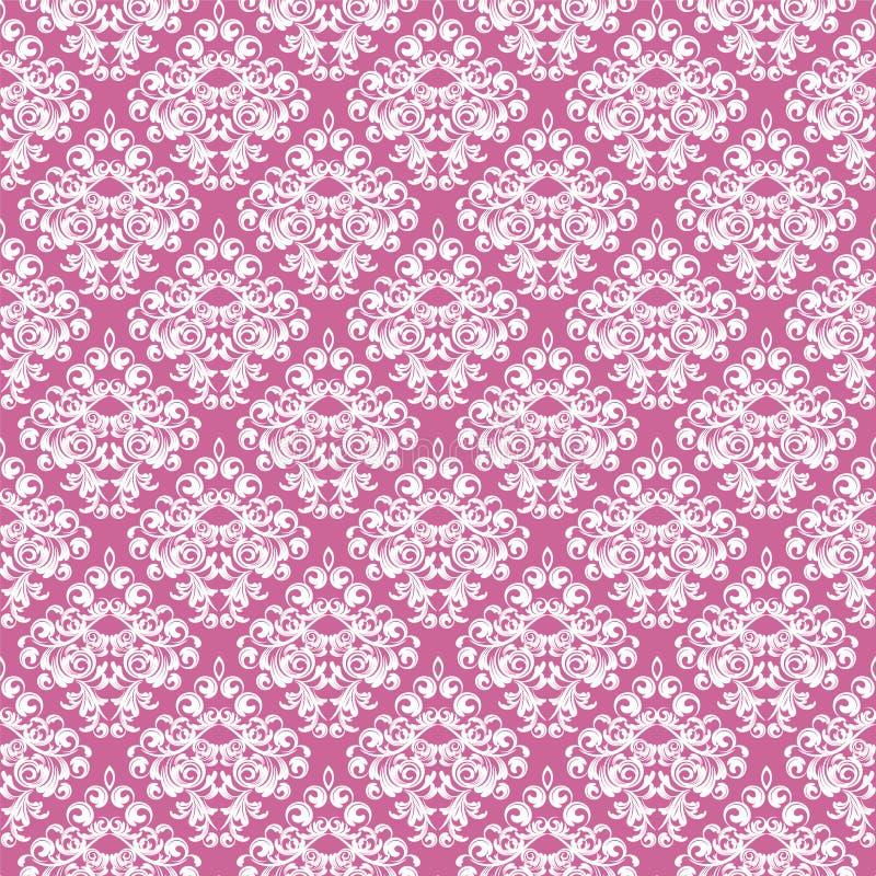 Damast Wallpaper vektor abbildung