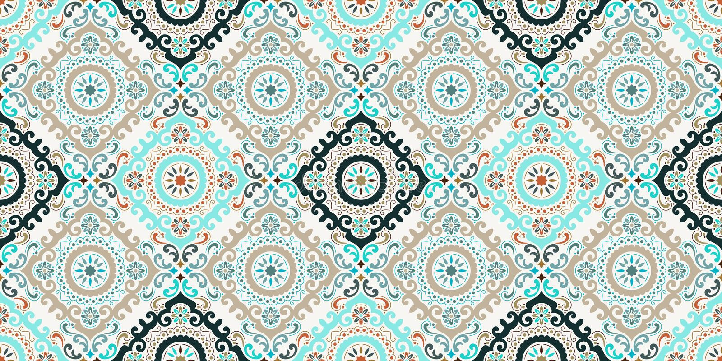 Damastast seamless modellbakgrund f?r vektor Elegant lyxig textur f?r tapeter, bakgrunder och sidan fyller Bästa bevekelsegrund vektor illustrationer