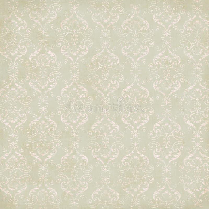 damastast tappningwallpaper arkivbild