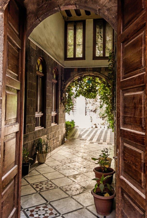 Damaszek Antyczny miasto obrazy royalty free