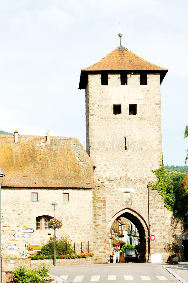 Dambach, Alsace, France photo libre de droits