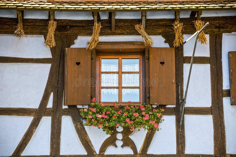 Dambach (de Elzas) - Huis royalty-vrije stock afbeelding