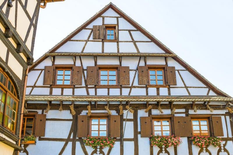 Dambach (de Elzas) - Huis stock foto's
