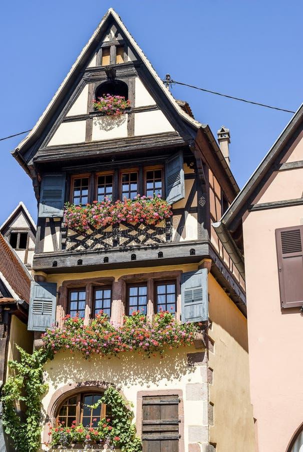 Dambach-La-Ville (de Elzas) - Huis royalty-vrije stock afbeelding