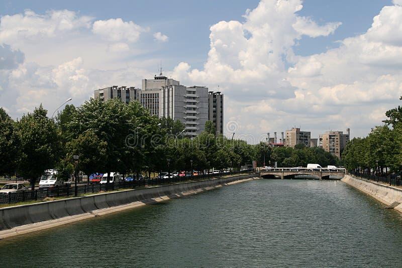 Dambovita river stock photography
