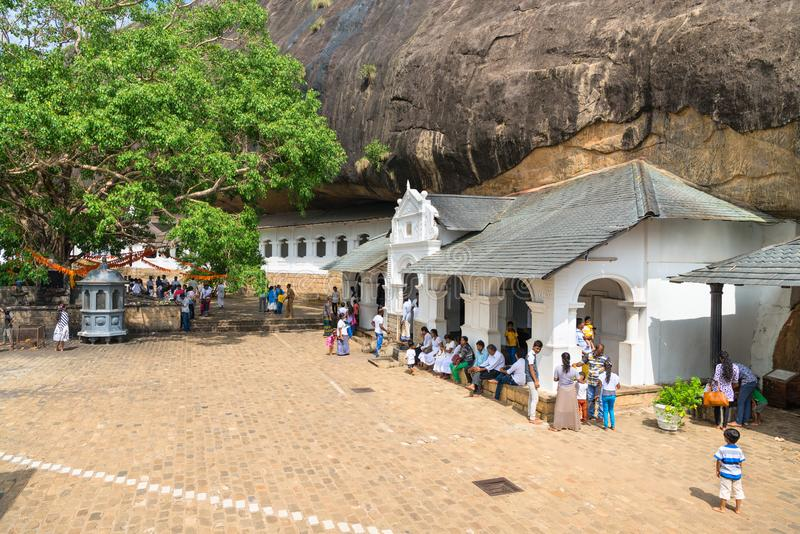 Download Dambulla Golden Temple Cave Complex Buildinds Is Destination For Editorial Image - Image of building, landmark: 108136630