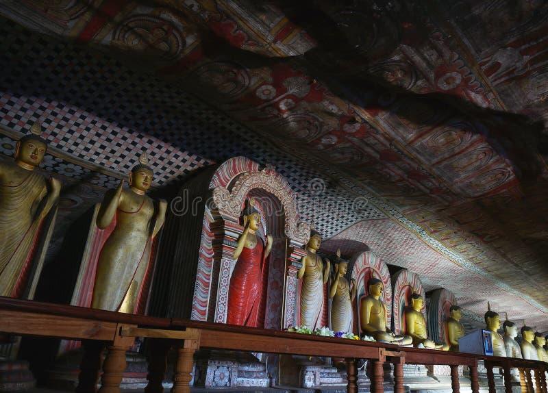 Dambulla jamy świątynia zdjęcia stock