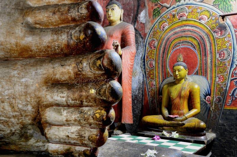 Dambulla Sri Lanka, Asien arkivfoto