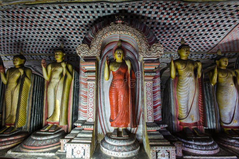 Dambulla Sri Lanka, Asien royaltyfria bilder