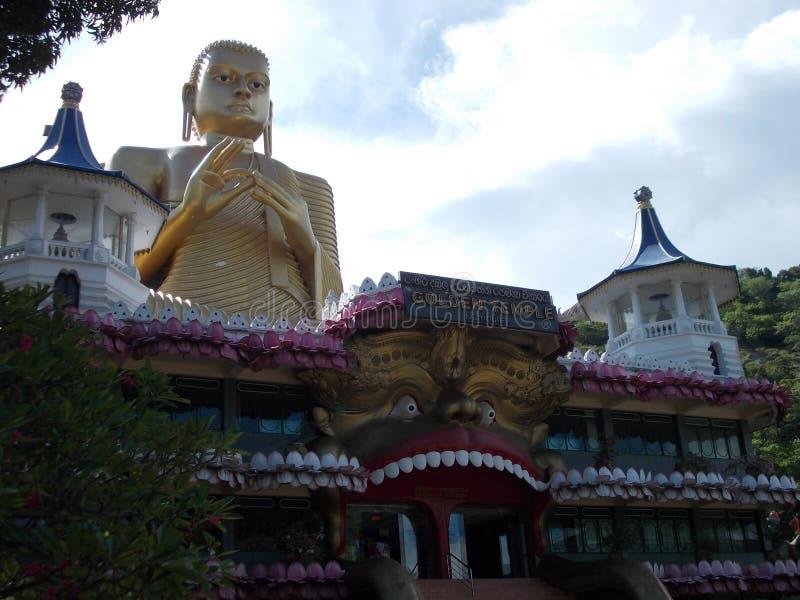 Dambullatempel - Sri Lanka royalty-vrije stock fotografie
