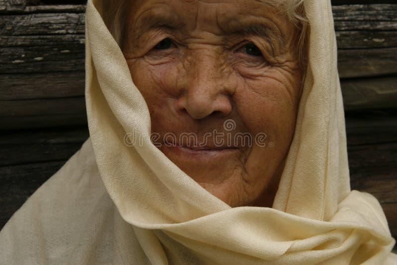 Dame âgée image libre de droits