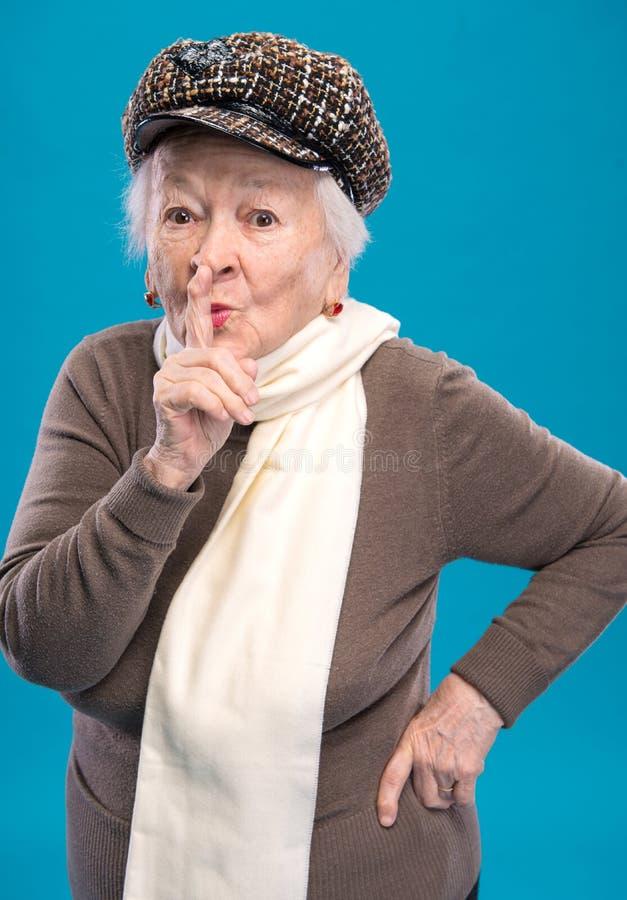Dame âgée photographie stock