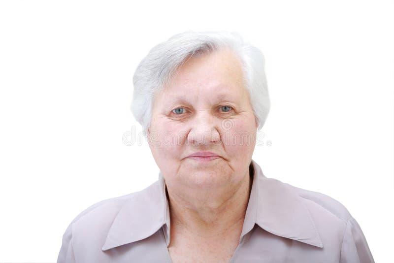 Dame âgée photo libre de droits