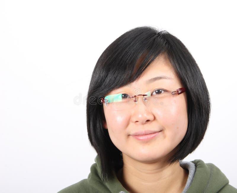 Dame asiatique images libres de droits
