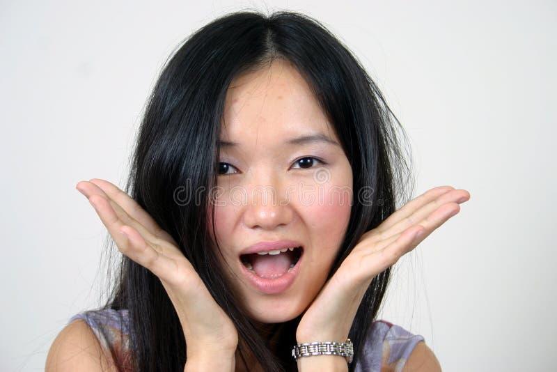 Dame asiatique 2 image libre de droits