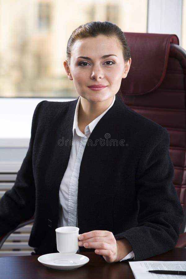 Dame Boss royalty-vrije stock fotografie