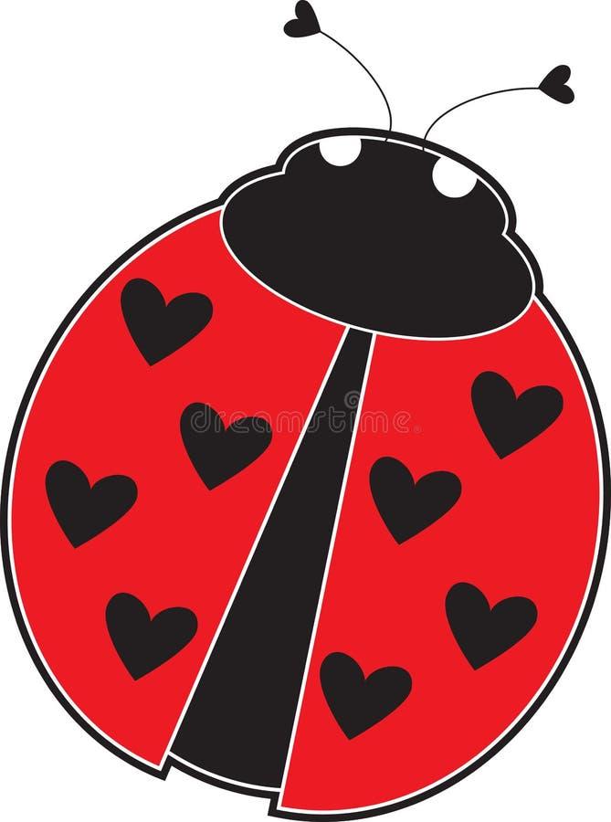 Dame Bug stock illustratie