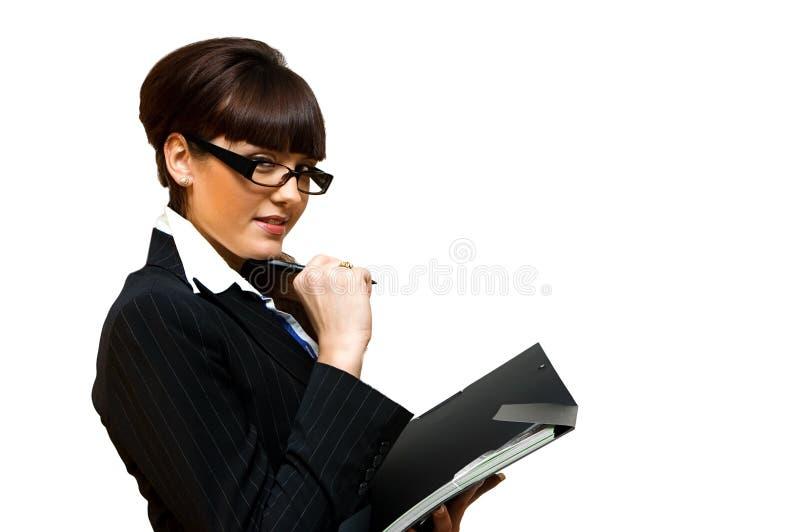 dame d'affaires photo stock