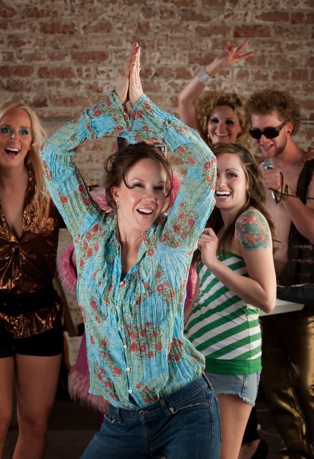 Dame de danse photos libres de droits