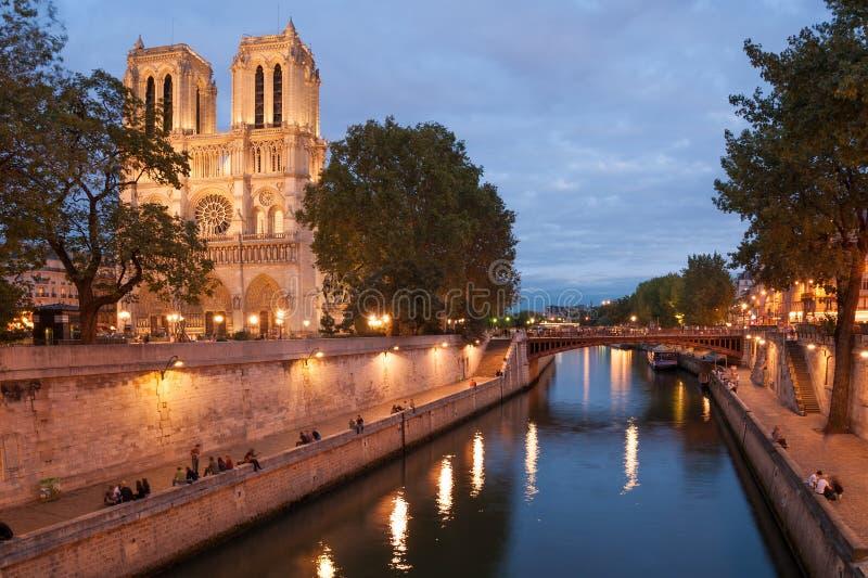 dame De Notre Paryża obrazy royalty free