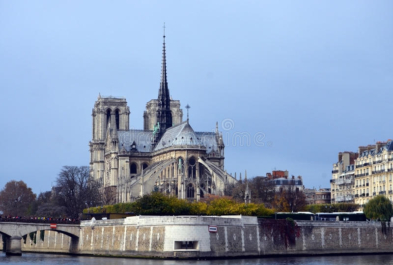 dame De Notre Paryża obrazy stock