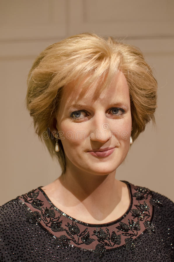 Dame Diana Spencer stockfoto