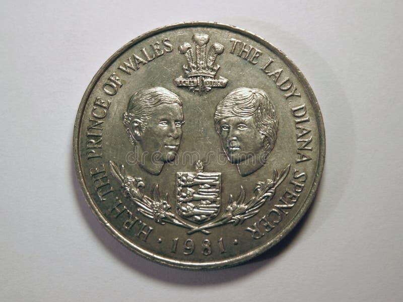 Dame Diana Und Prinz Von Wales Lizenzfreies Stockbild