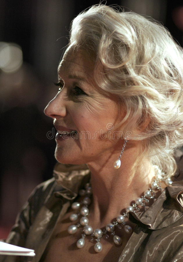Dame Helen Mirren stock foto