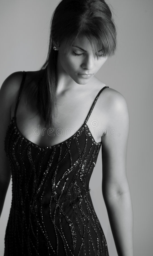 Dame hispanique sexy photographie stock libre de droits