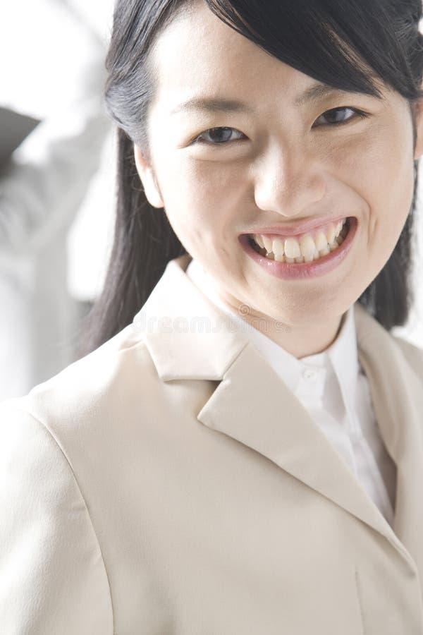 Dame japonaise de bureau photo libre de droits