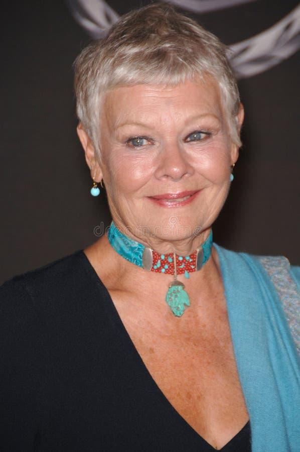 (Dame) Judi Dench royalty-vrije stock foto's