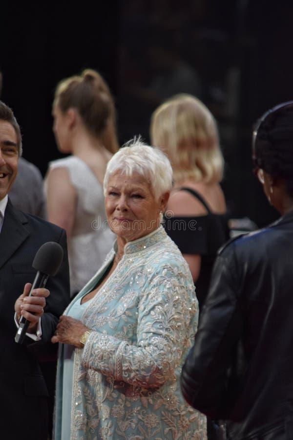 Dame Judy Dench royalty-vrije stock foto