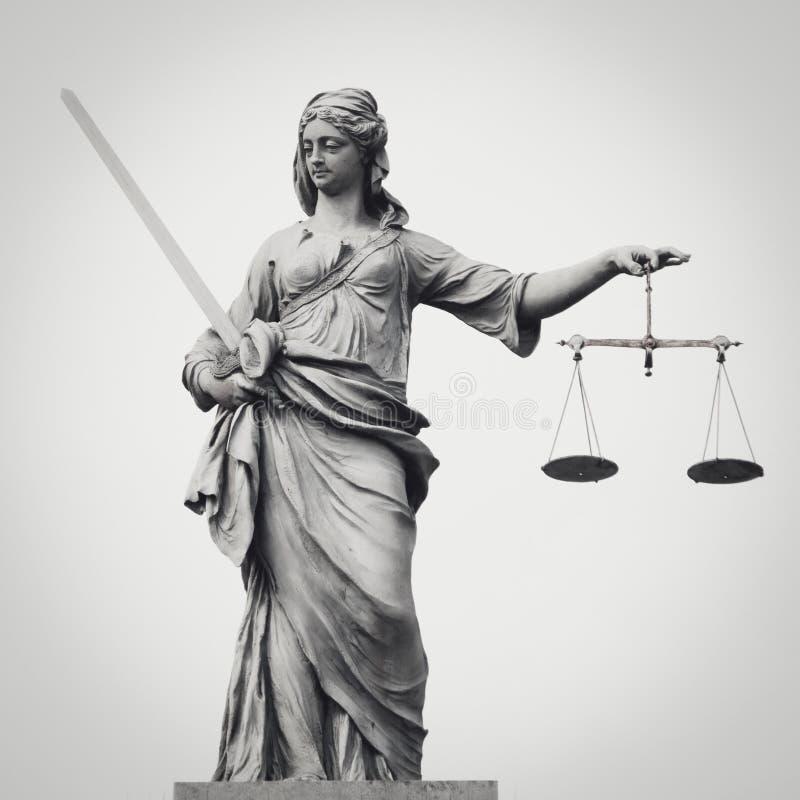 Dame Justice lizenzfreie stockfotografie