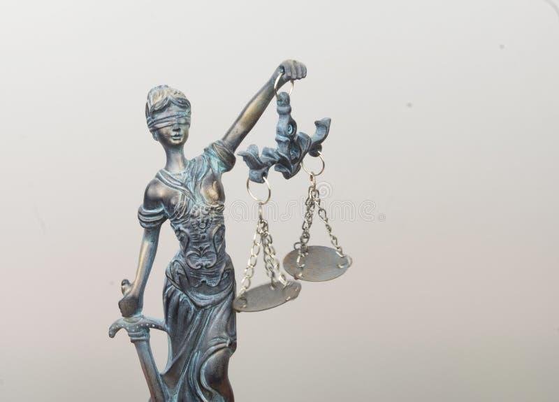 Dame Justice stockfoto