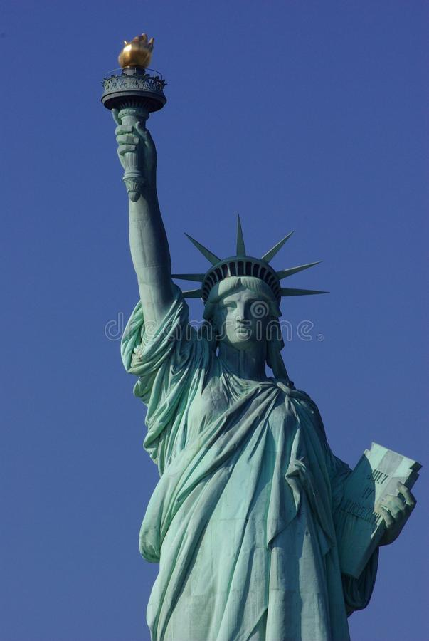 Dame Liberty stock afbeelding