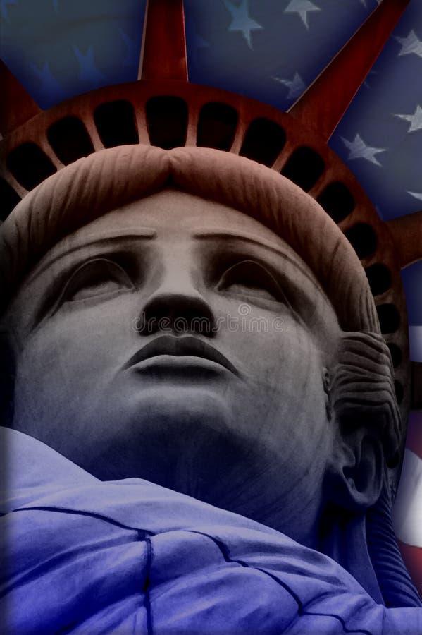 Dame Liberty stock fotografie