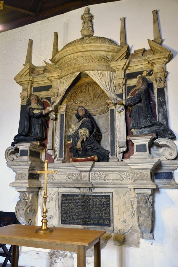 Dame Maria Baynton Monument stock foto