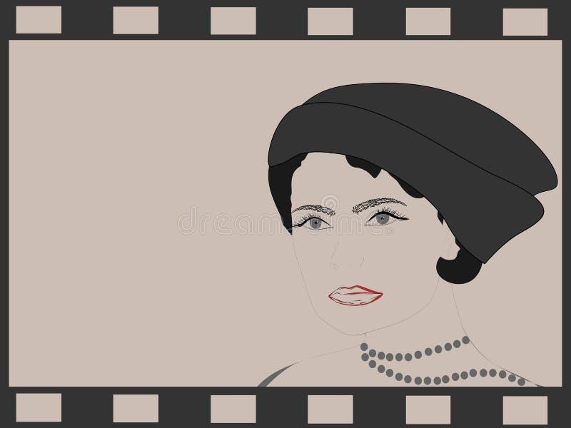 Dame royalty free illustration