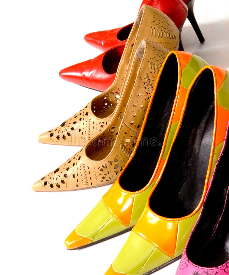 Dame-Schuhe stockfotos