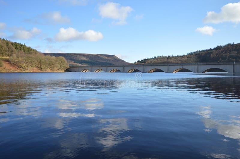 DameBower reservoir stock afbeelding