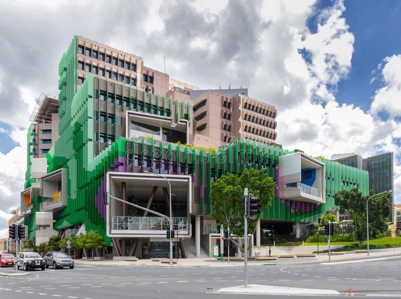Damen Cilento Childrens Hospital i Brisbane royaltyfri bild