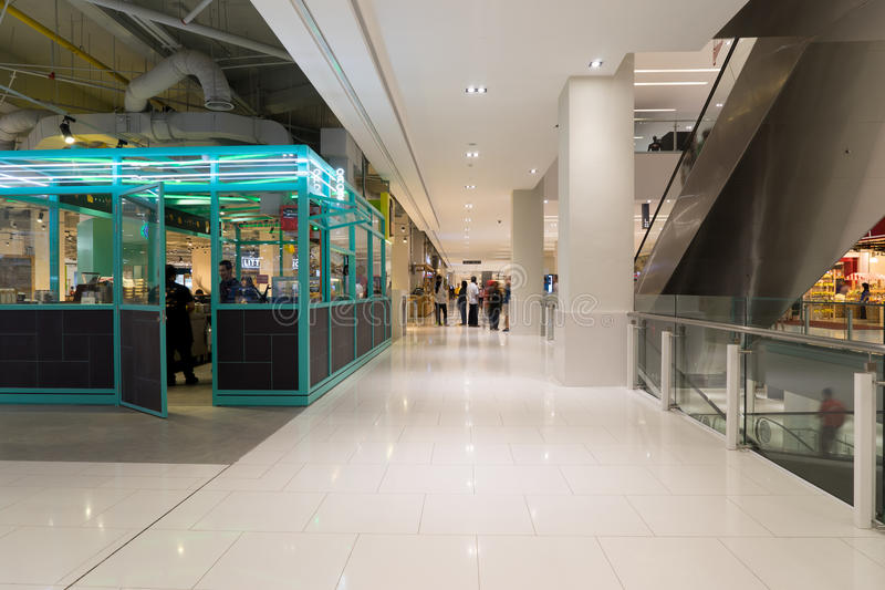 Damen-Einkaufszentrum in USJ, Subang Jaya, Malaysia lizenzfreie stockbilder