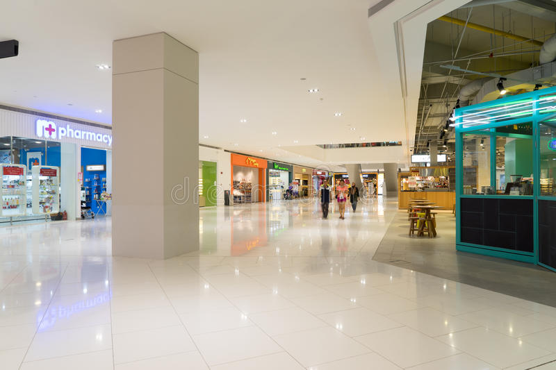 Damen shopping mall in USJ,Subang Jaya,Malaysia. KUALA LUMPUR, MALAYSIA - APRIL 09, 2016: Damen shopping mall in USJ. A New Era Of Retail Lifestyle In Subang stock photography