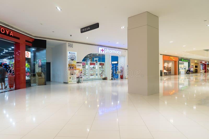 Damen shoppinggalleria i USJ, Subang Jaya, Malaysia royaltyfri foto