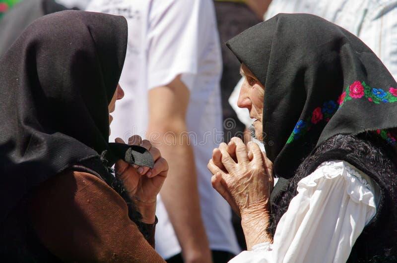 Dames âgées photo libre de droits