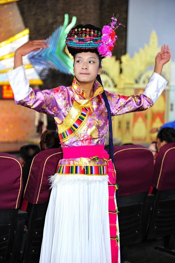 Dames de Mosuo, Chine photographie stock libre de droits