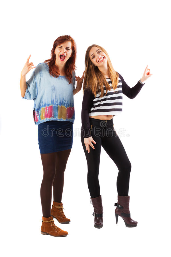Dames de rock images libres de droits